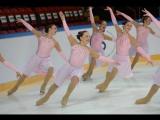 Grand Prix Final 2015 Exhibition Gala RUSSIA Synchronized skating  team