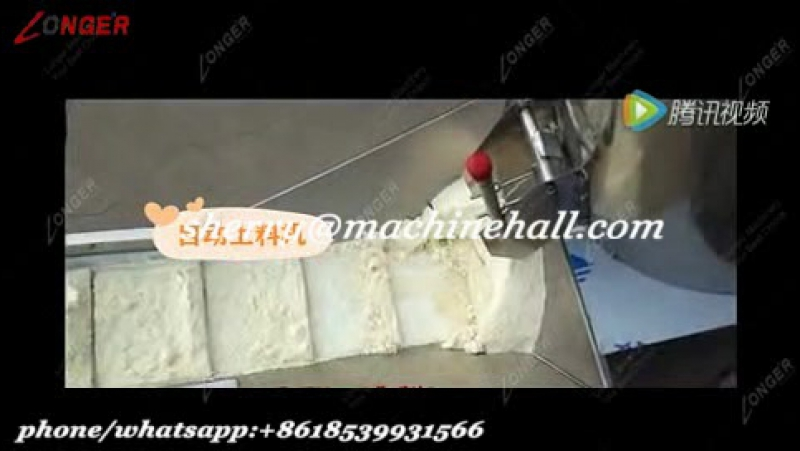 Fully automatic stick noodle production line