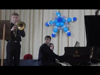 Концертино №1 для фортепиано с тромбоном. Композитор: Ринат Хасанов
