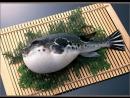 Ядовитая рыба Фугу. Разделка и приготовление