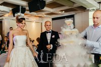 Наша 👰💍#невестаАледа #brideAleda Вайнер Валерия в платье  👗 Кетлин😍 #millanova
