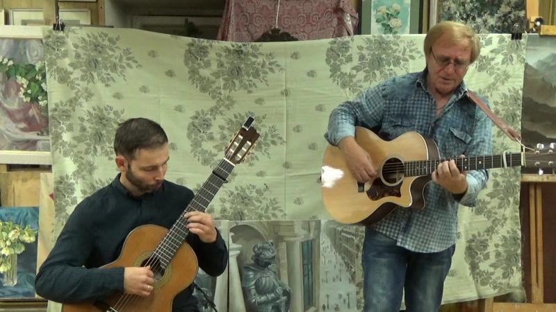 Виктор Попов и Кирилл Модестов в Старой Школе 17.09.2017г