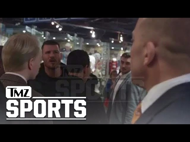 GSP vs. Bisping: Threats, Cussing, Insults In Backstage Standoff | TMZ Sports