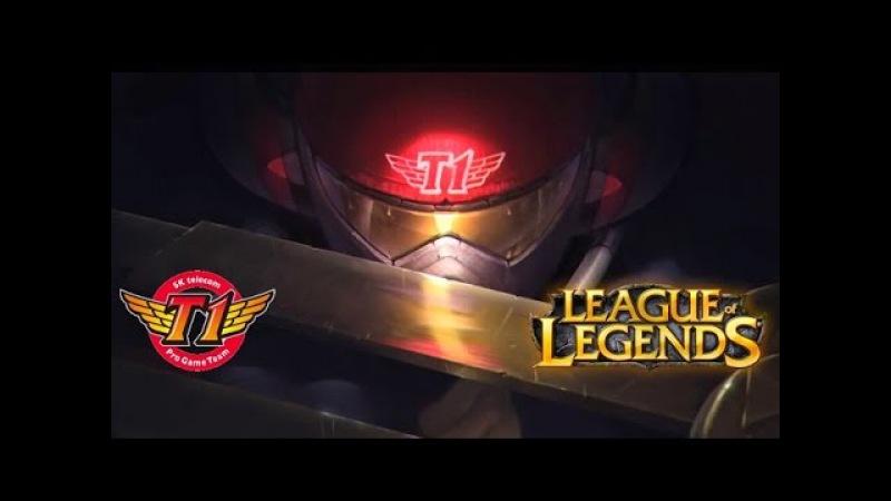 Faker Live Stream - SKT T1 Faker - Azir vs SofM Syndra - Mid - Highlights - 페이커 아지르