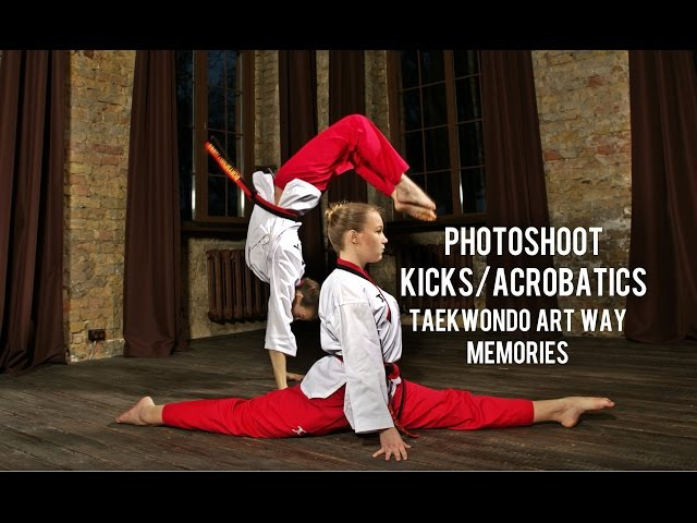 Art Way Taekwondo / Photoshoot kicks