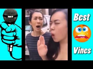 FUNNY VINES /Two Chinese women are copying a police siren much captures the spirit Vines # 4