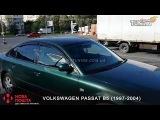 Ветровики Фольксваген Пассат Б5. Дефлекторы окон Volkswagen Passat B5. Tuning. Тюнинг запчасти.