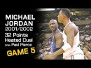Michael Jordan 32 Points Vs Boston Celtics - HEATED UP DUEL W PAUL PIERCE! (11.07.2001)