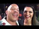 Vin Diesel and Deepika Padukone - live World Premiere xXx Return of Xander Cage 2017 Exclusive