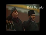 List of Soviet Anthems at the October Parades-Part 1