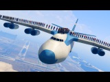 CAN 100+ PEOPLE STAND ON THE PLANE IN GTA 5