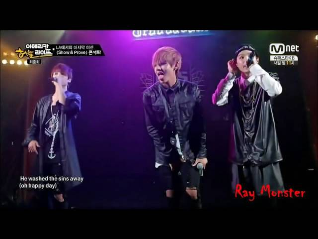 Oh Happy Day (Cover) - V , JongKook , Suga (On Stage Behind the Stage)