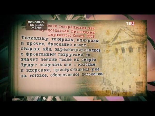 Походно-полевые жены. Хроники московского быта