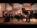 Cesar Franck Piano Quintet in f minor Porshneva Elisarov Simakin Berezin Kandinskaya