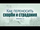 Проповедь Как переносить скорби и страдания Андрей Зубарев