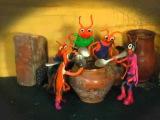 Четыре неразлучных таракана и сверчок