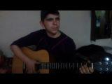 Армейская песня на гитаре - обычный автобус (cover)