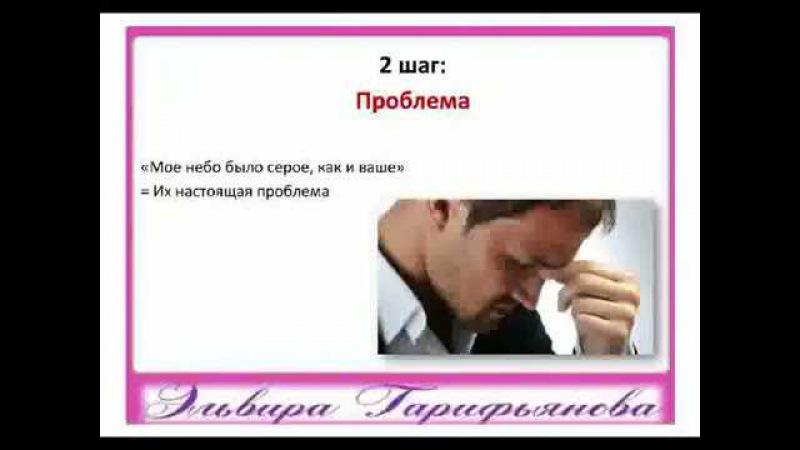 Продающая история для Интернет продаж Эльвира Гарифьянова