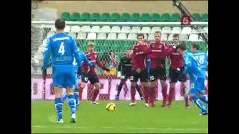 ФК Москва 1-0 Зенит 31.10.2009 Премьер-Лига