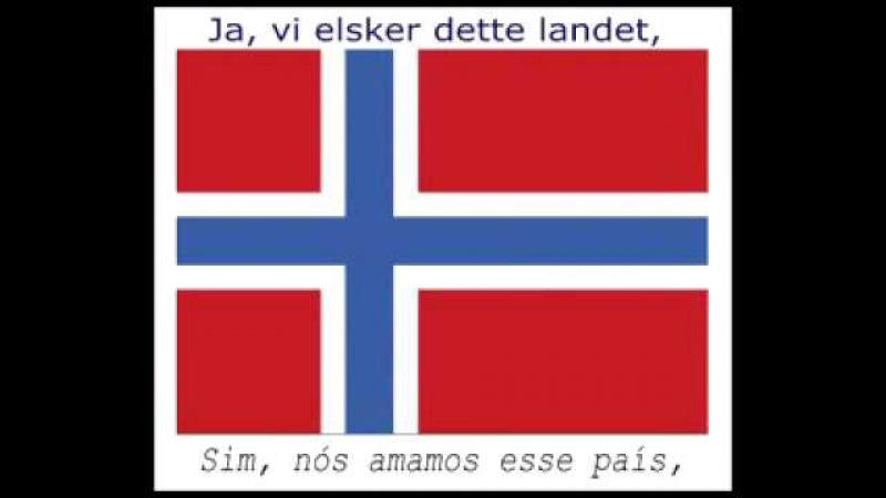 National Anthem of Norway (Hino Nacional da Noruega) Bokmål and Portuguese Subs: