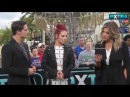 Sharna Burgess and Bonner Bolton Facebook live - 03.22.17