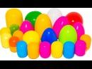 Разноцветные СЮРПРИЗЫ. Игрушки из мультиков ФИКСИКИ МАША И МЕДВЕДЬ ГЕРОИ В МАСК ...