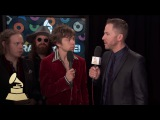 Cage The Elephant  Backstage  59th GRAMMYs