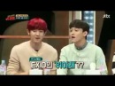 EXO CHANYEOL  and CHEN singing EXID up and down