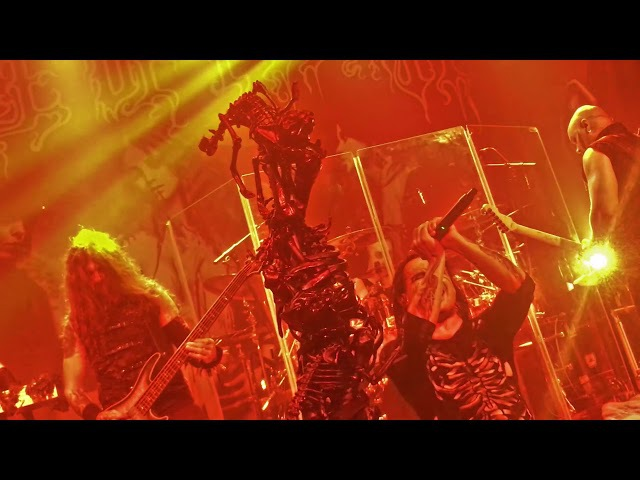 Cradle of Filth - Her Ghost in the Fog live in Dublin @Academy - 2017