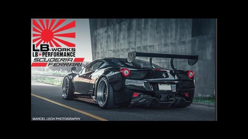 The Making of: The DDE Ferrari 458 Liberty Walk GT Widebody