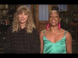 Taylor Swifts First SNL Promo With Tiffany Haddish Is Here