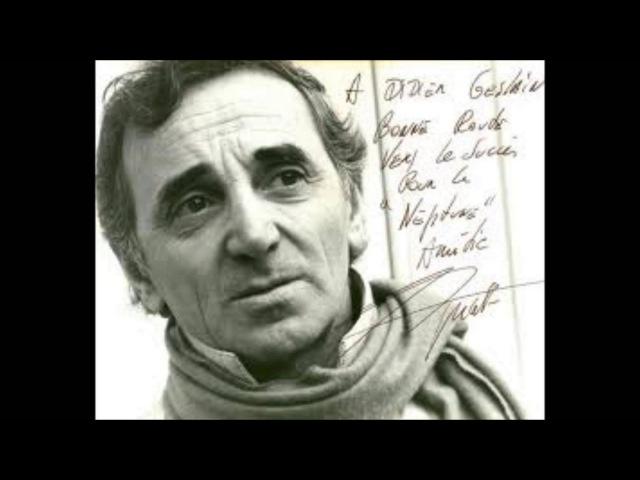 Charles aznavour → un vie d'amour