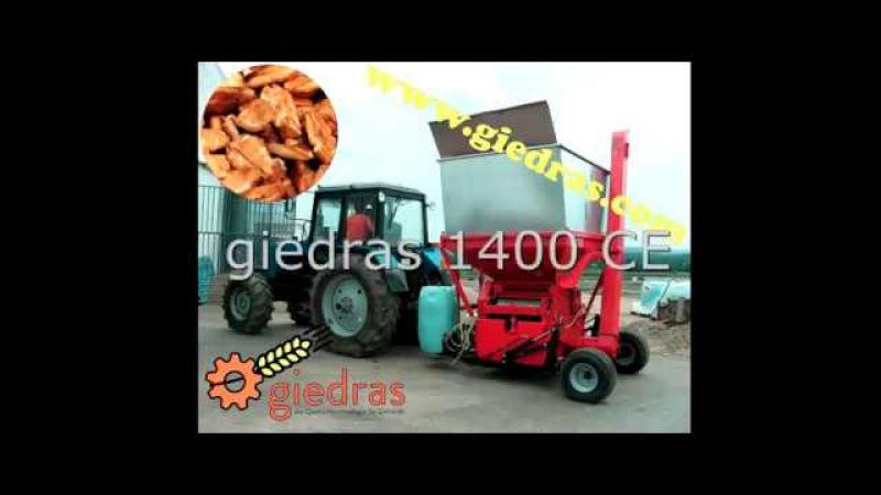 Crimper mill giedras 1400 CE www.giedras.com info @giedras.com