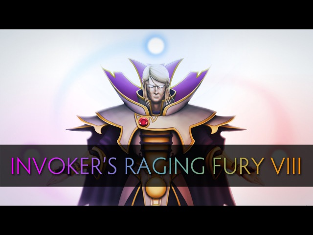 Dota 2 Invokers Raging Fury 8