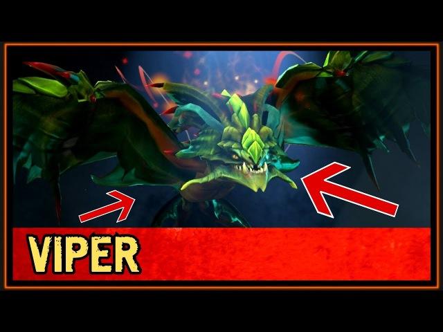 Viper - Fervid Monarch - Mythical - Treasure of the Venerable One - Dota 2 Market
