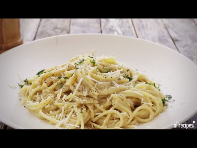 Pasta Recipes - How to Make Spaghetti Cacio e Pepe