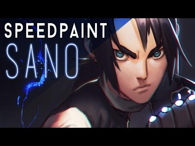 Speedpaint - Sano from Apple Black (WhyT Manga Collab)