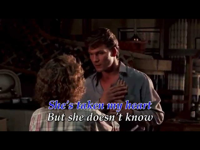 She's Like The Wind - Patrick Swayze feat. Wendy Fraser (♪Music Video with Lyrics) [HD]