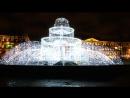 Новогодний фонтан в Александровском саду