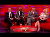 Samuel L Jackson and Tom Hiddleston Lose it Over Their Fan Art - The Graham Norton Show
