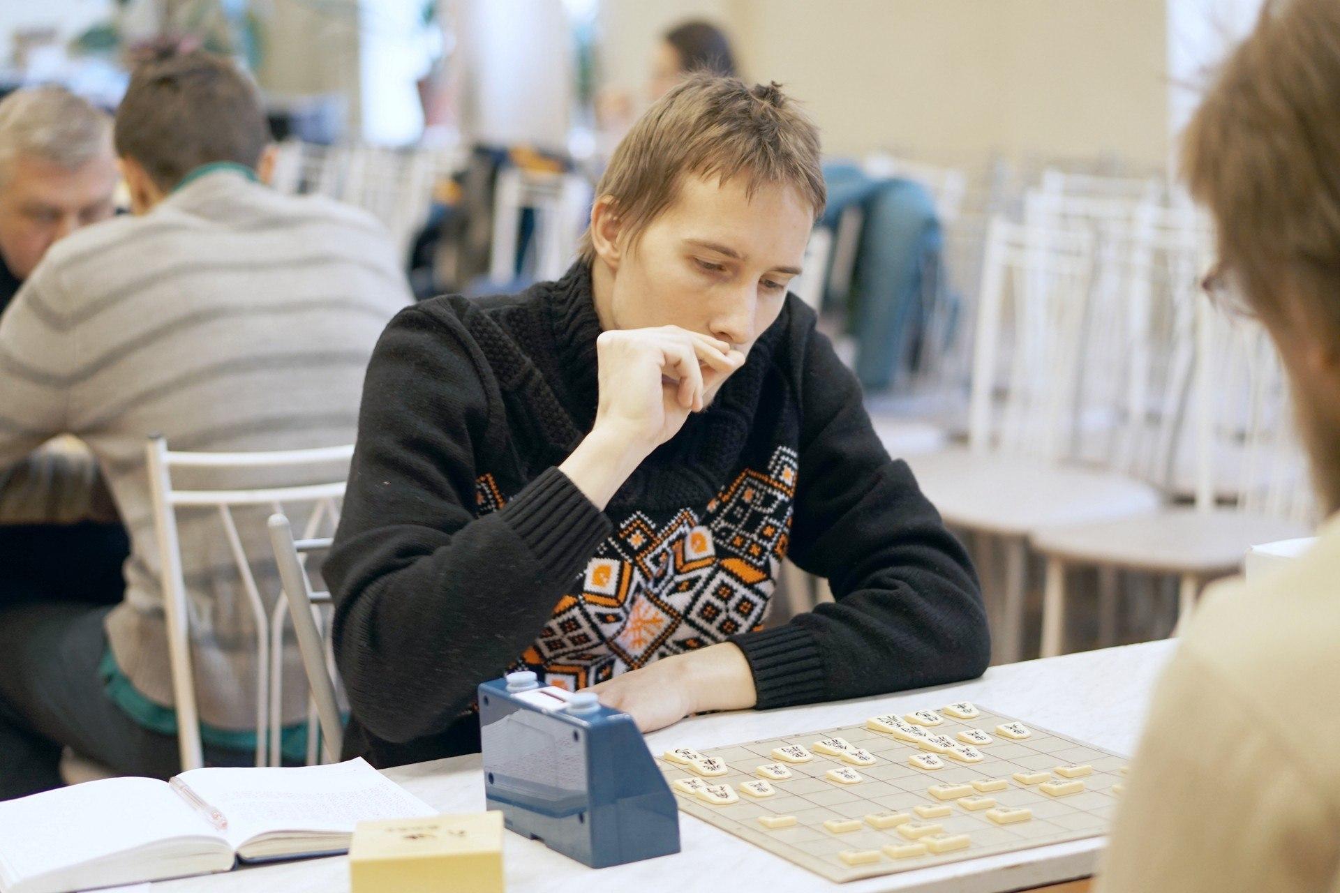 Победитель XII Рождественского турнира по сёги в СПб