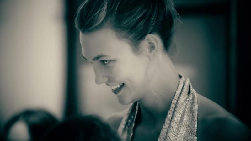 Karlie Kloss Behind the Scenes at Atelier Swarovski's Lanvin Photoshoot
