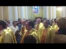 Праздничная месса приезд государственного секретаря Ватикана Кардинала Пьетро
