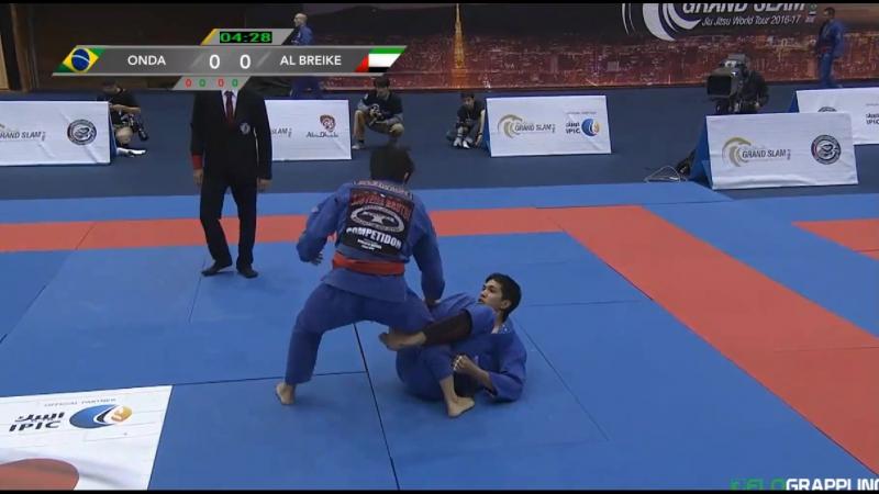 Matheus Onda vs. Nasser Al Breike TokyoGS16