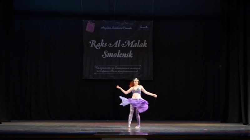 Рейтинговый конкурс Raks Al Malak 2017 - Шоу oriental Танец Возрождение