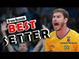 Best Volleyball Setter - Bruno Rezende (BRA) - Volleyball Setter - World League 2017
