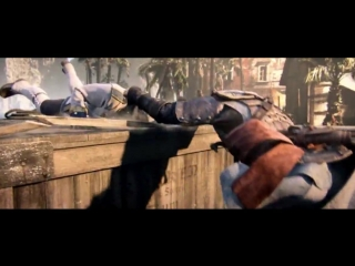 Assassin's Creed IV ► (Мнение Черной Бороды) Вступительный Кинематик CGI Трейлер Ролик с участием Эдвард Кенуэй