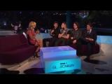 Arctic Monkeys - interview Glastonbury Festival UK  28th June 2013 (by.Shuvaev)