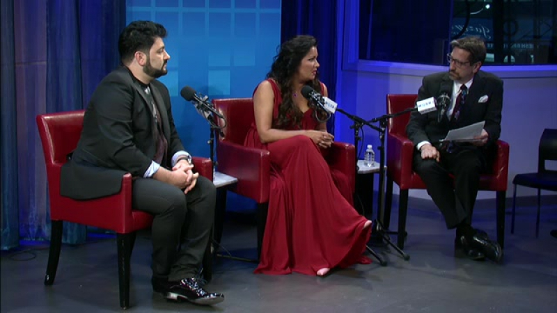 Anna Netrebko's Verismo special performance and exclusive interview (Greene Space, New York, USA, 21.09.2016)