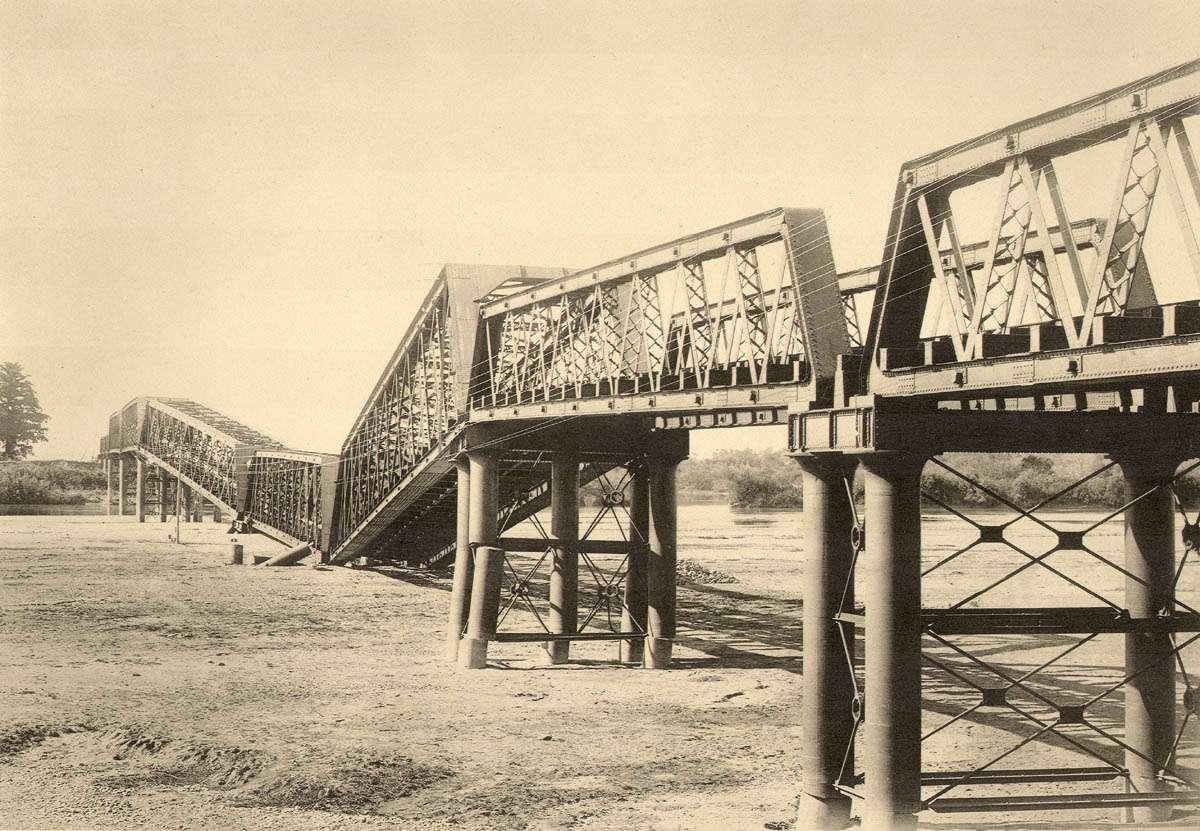 XXVI. Залізничний міст в Наґара Ґава